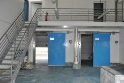 Salle de production et Mezzanine - Atelier Agroalimentaire Normandie