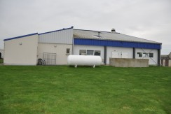 Arrière atelier agroalimentaire - Normandie Plus zone déchets