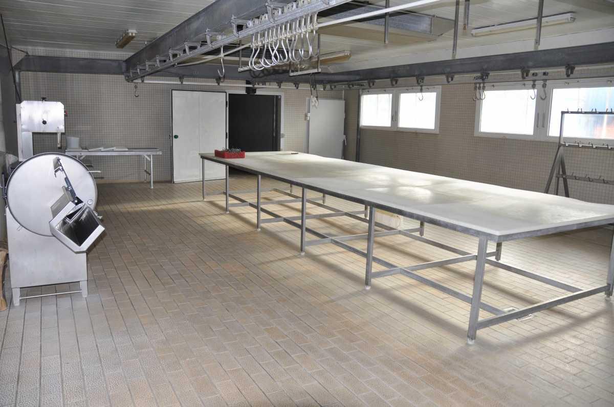 Usine agroalimentaire 1 800 m² au sol sur deux niveaux. Saint-Brieuc – Côtes d'Armor – Bretagne