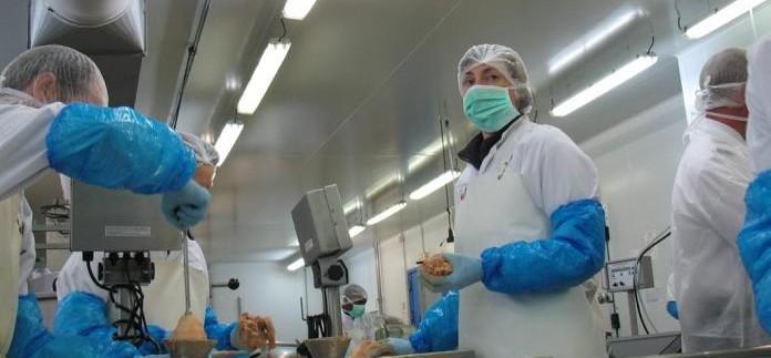 Larnaudie foie gras usine agroalimentaire extension atelier lot