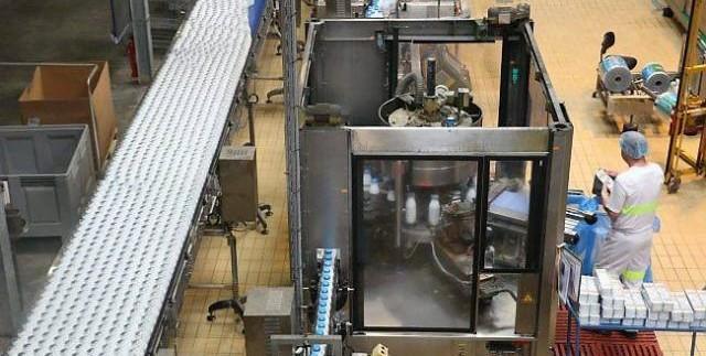 Candia lait agroalimentaire laiterie usine stockage