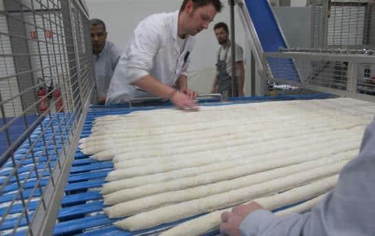 La Parisienne de Baguettes panification industrielle usine agroalimentaire Aubervillers (93)