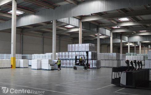 REFRESCO logisitique plateforme agroalimentaire Pepsico Saint-Alban-les-Eaux