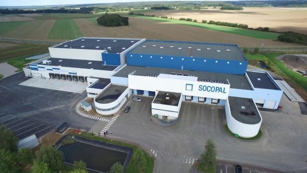 SOCOPAL Entrepot logistique surgelés froid plateforme agroalimentaire rouen normandie