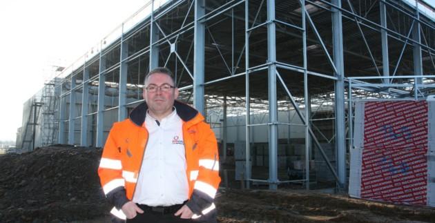 Saint-Sauveur-Des-Landes Disgroup logistique plateforme température dirigée Bretagne agroalimentaire Fougères