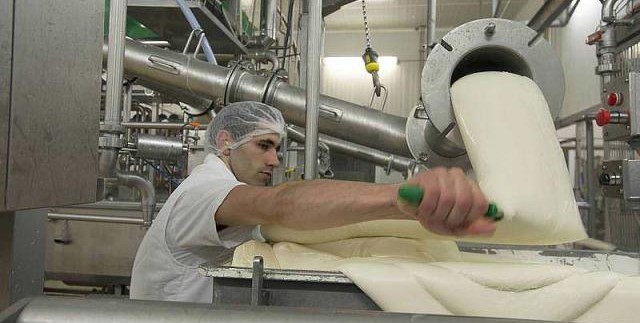Fromage EUrial Guilloteau Agroalimentaire Rhone-Alpes usine Calvados Caen Normandie