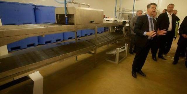 Cherbourg Normandie Agroalimentaire Saumon de France usine
