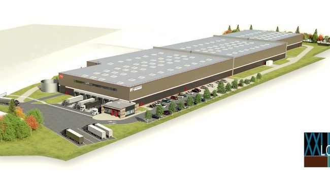 POULT BISCUITERIE plateforme logistique agroalimentaire température dirigée froid usine