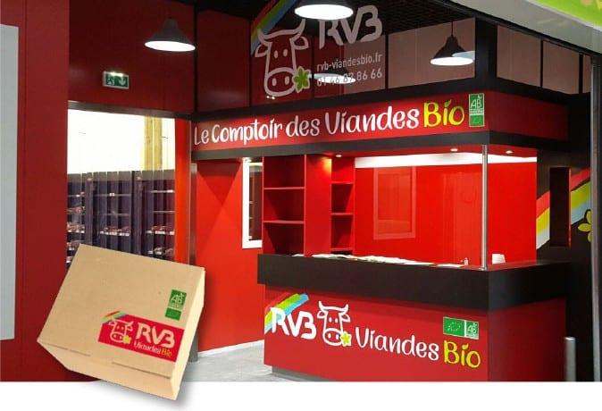 RVB Comptoir des viandes bio usine agroalimentaire Mauleuvrier