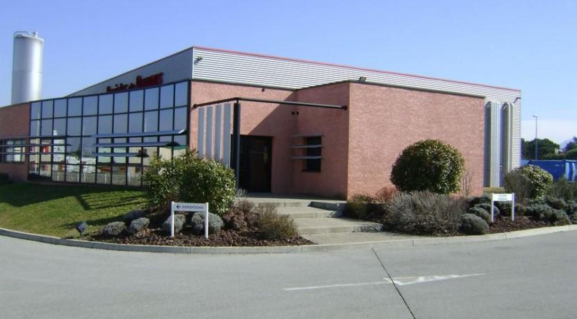 Saint-jean Bourg-de-Péage usine agroalimentaire Drome