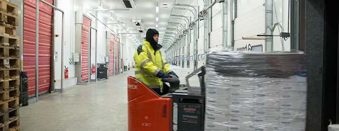 Le Calvez Transport logistique plateforme surgelé froid négatif cholet agroalimentaire entrepot