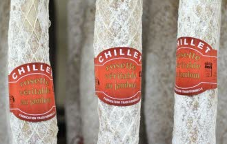 Maison Chillet saucisson Lyon usine agroalimentaire investissement