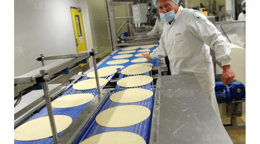 Viriat Ain Marie LDC production pates agroalimentaire usine