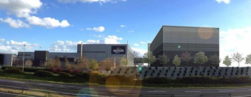 BRIDOR Le Duff Servon-sur-Vilaine Entrepot logistique agroalimentaire usine platefrome
