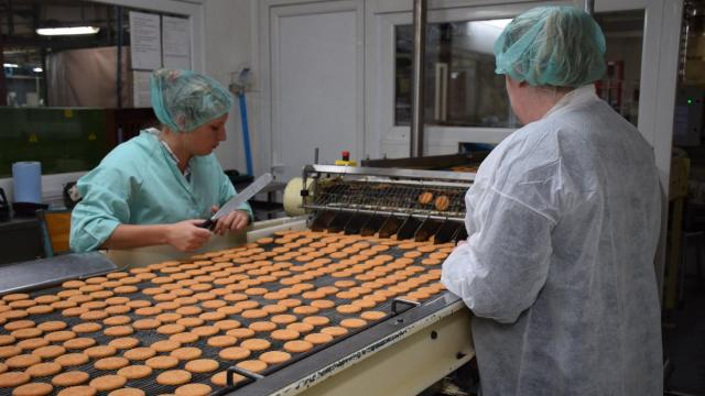 Biscuiterie de l'abbaye orne agroalimentaire usine entrepot stockage