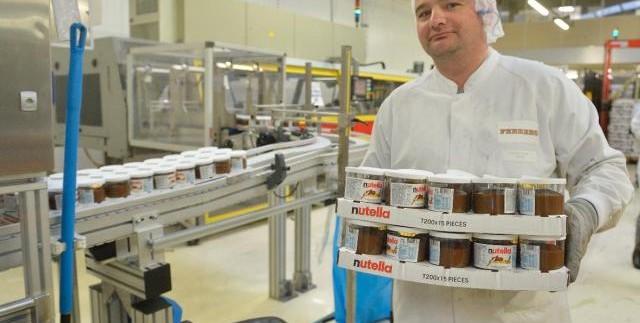 Nutella usine agroalimentaire ferrero rouen normandie investissement