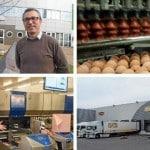 Loeuf LDC oeufs manche saint-lo batiment industriel agroalimentaire usine