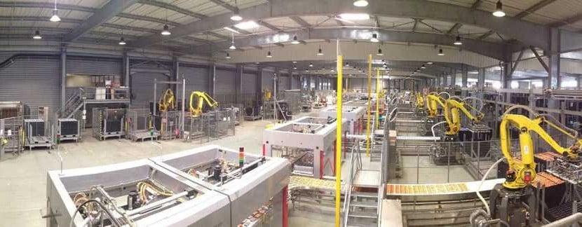 La Normandise usine pet food normandie vire stockage logistique agroalimentaire