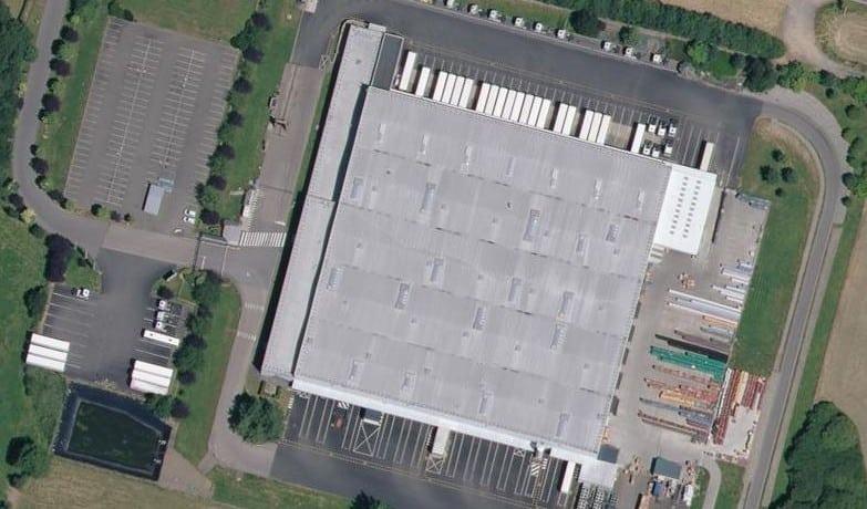 Base logistique entrepôt frais 14 500 m2 - Alençon - Caen - Laval