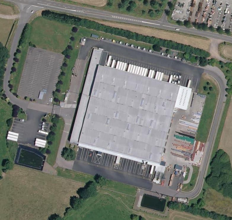 Plateforme logistique  14 500 m² froid positif / sec –  Alençon / Caen / Laval