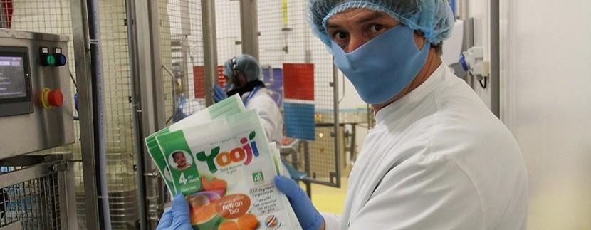 Yooji Danone investissement agroalimentaire babyfood usine