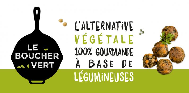 Le Boucher Vert Investissement agroalimentaire Vegan Bio usine Lyon Rhone-Alpes ICI&La