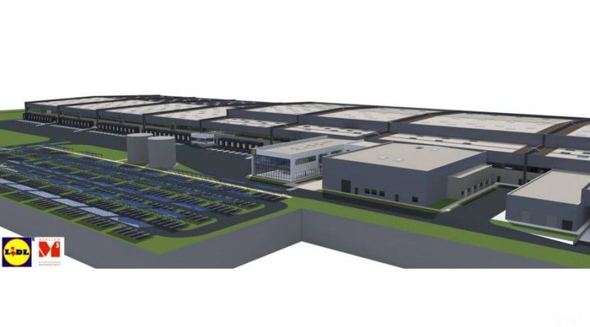 Lidl Plateforme logistique entrepôt agroalimentaire CESTAS distribution température dirigée