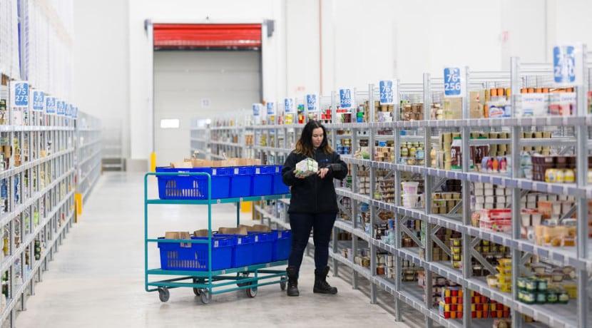 Carrefour plateforme logistique entrepot temperature dirigée ile-de-france