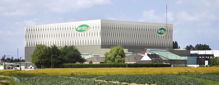 ARDO usine agroalimentaire entrepot logistique surgele legumes bretagne