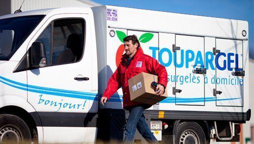 Agroalimentaire distribution logistique Toupargel Naturalia entrepôt plateforme