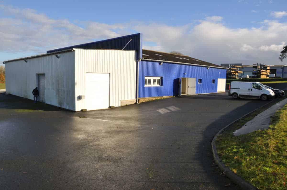 Atelier agroalimentaire  – Saint-Brieuc – Côtes d'Armor  –  Bretagne – 600 m²