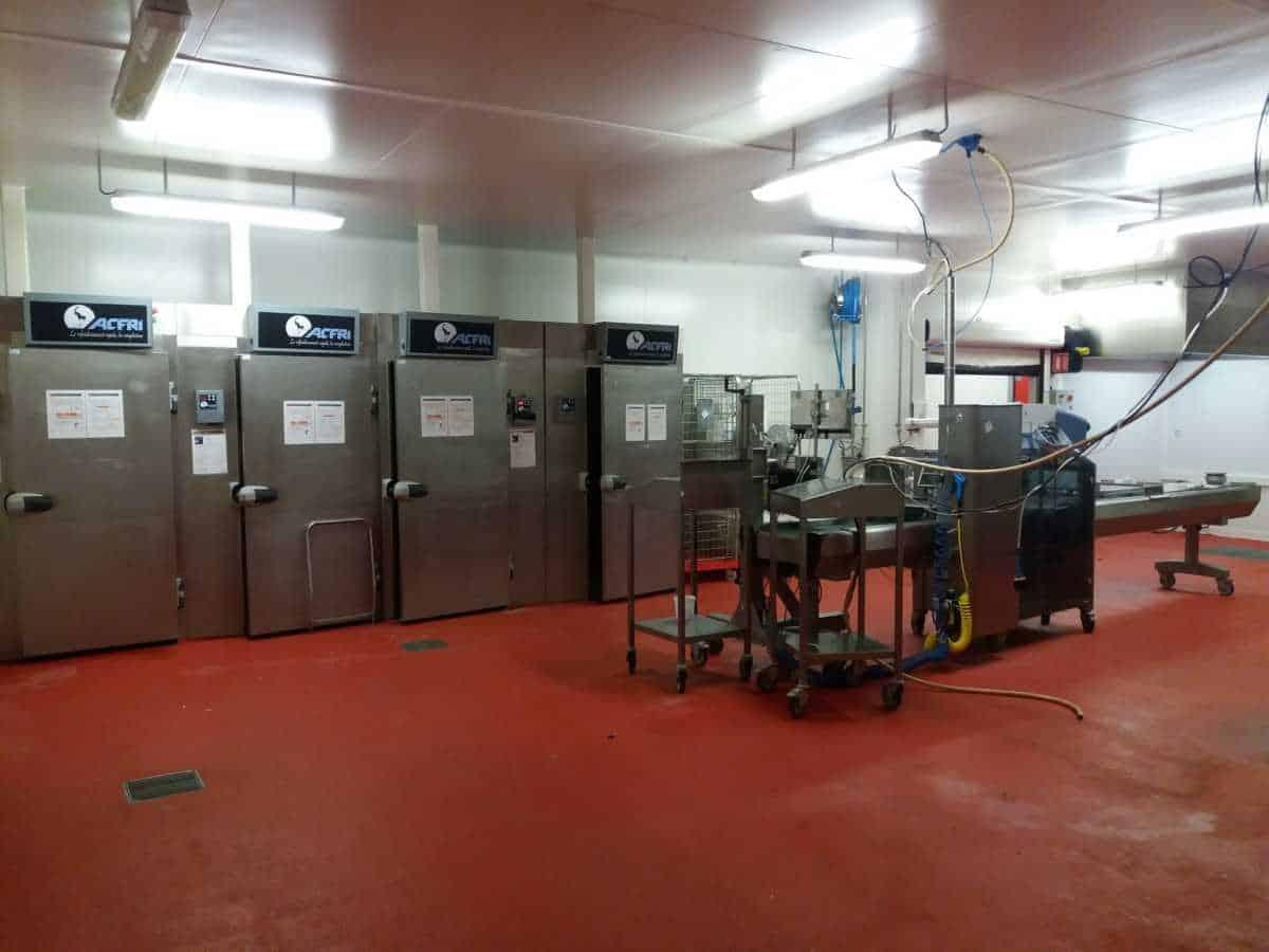 Usine agroalimentaire – Plats Cuisinés – Cuisne centrale – PARIS Ouest – Chartres – Évreux – 2 500 m²
