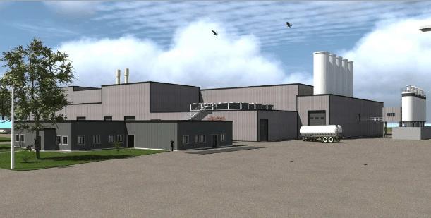 Investissement usine agroalimentaire Pays de Loire Mayenne LDC