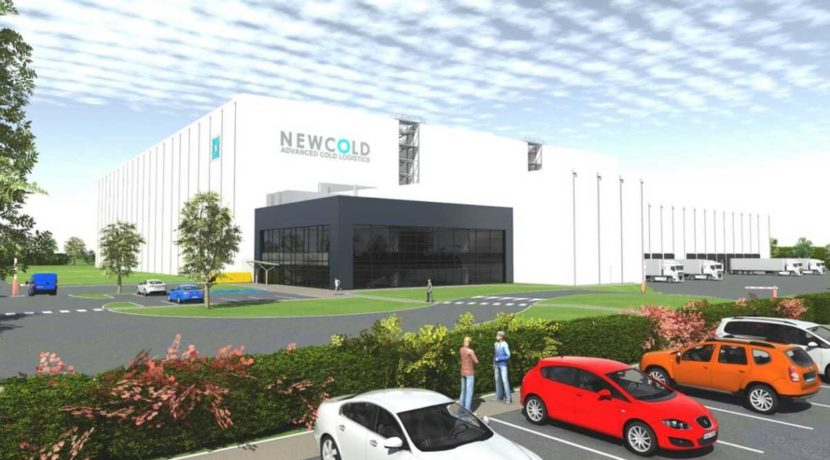 Newcold investissement agroalimentaire logistique entrepot bretagne