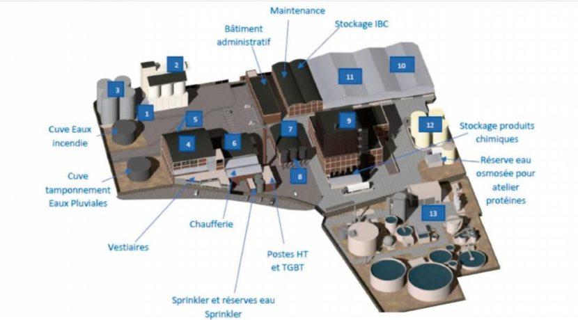 SAIPOL DSM investissement usine agroalimentaire Dieppe