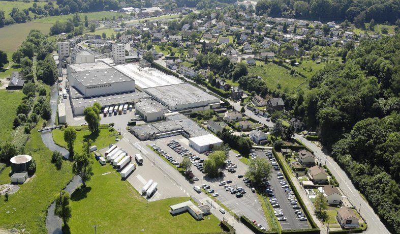 Ferrero investissement usine agroalimentaire plateforme logistique Rouen